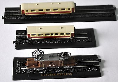 Minitrains 1/220 Atlas Editions Diecast Model TRAIN set minitrain