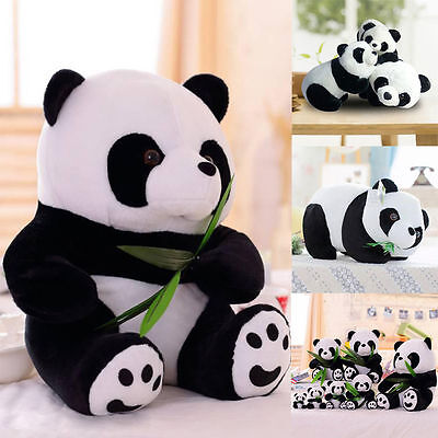 7inch Cute PANDA Bear Stuffed Animal Plush Soft Toys Standing Kids Doll Games