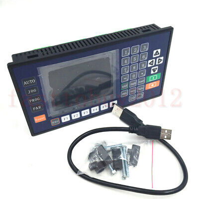 4 Axis 3.5inch TFT RS485 Servo Stepper CNC Controller for Lathe Milling Machine