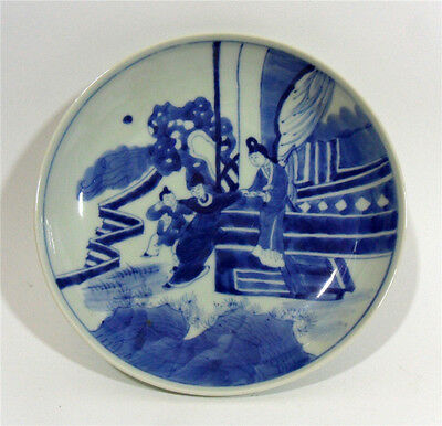 Chinese Blue-and-White Guangxu Mark Porcelain Plate