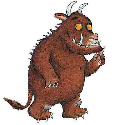 The Gruffalo Self Adhesive Wall Art Sticker Decal Poster Mural Multi Sizes New*