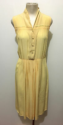 CULT VINTAGE '80 Abito Vestito Donna Viscosa Rayon Woman Dress Sz.L - 46