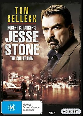 Jesse Stone The Collection (DVD, 2016, 9-Disc Set) BRAND NEW SEALED
