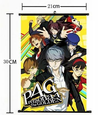 727 Hot Japan Anime P4G persona 4 The Golden Wall Scroll Poster cosplay