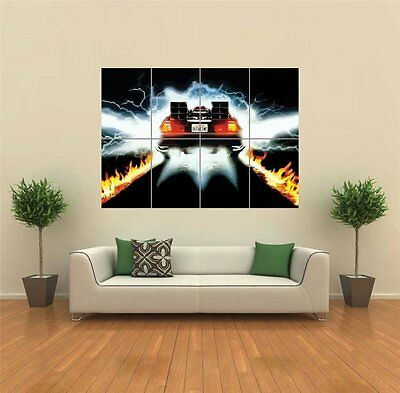Back To The Future Cult Classic Movie Film Giant Wall Poster Print New G1304