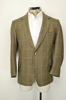 "48"" Short Magee Olympic T2 Tweed 2 Button Jacket Blazer"