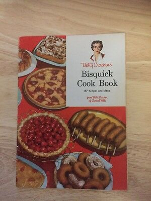 1956  Betty Crocker's Bisquick Cookbook  *Free Shipping*