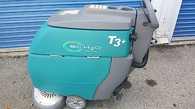 """Tennant T3 Disk 28"""" (2x 14"""" pad holders)Floor Scrubber w. ec-H2O (6.months old)"""