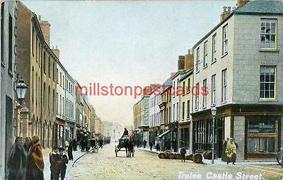 Printed Postcard Of Castle Street, Tralee, County Kerry, Republic Of Ireland.