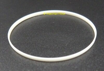 Gasket i-ring for flat round 1.5mm thick glass crystal 25mm to 40mm
