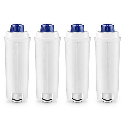 COMPATIBLE DLS C002 / SER3017 De'Longhi Bean to Cup Water Filter Softener x 4
