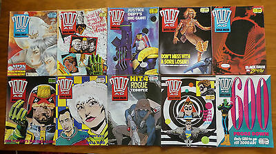 2000AD Progs 591 to 600