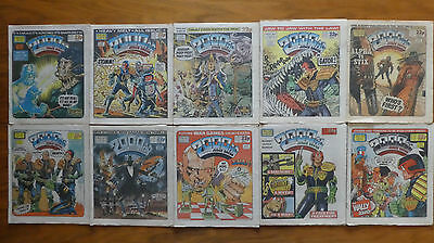 2000AD Progs 381 to 390
