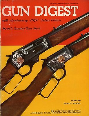 Collector Book Gun Digest 24th Anniversary De Luxe Edition 1970