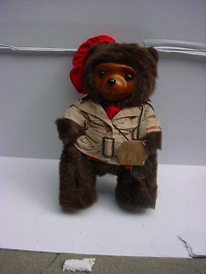 Robert Raikes Signed Cecil Glamour Bears of the 1920's 1986