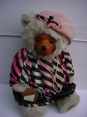 Robert Raikes Signed Maude Glamour Bears of The 1920's 1986 New In Box