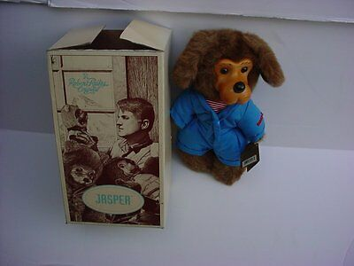 Robert Raikes Signed 1993 Puppy Dog Jasper New In Box