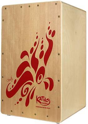 Katho FIESTA CAJON.  Spanish-made Flamenco Box Drum, 2 Snares. From Hobgoblin