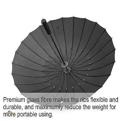Big Umbrella Rain For Sun Protection Wind Resistant Defying Large Windproof Best