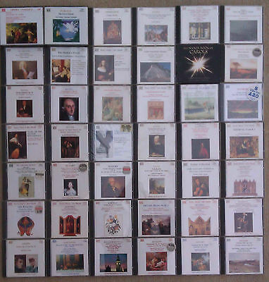 NAXOS - SELECTION OF CLASSICAL CD's by MOZART, BACH, HAYDN & OTHERS.