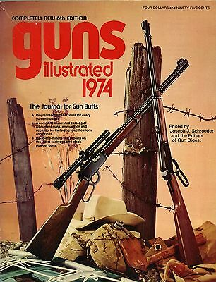 Collector Book Guns Illustrated 6th Edition 1974