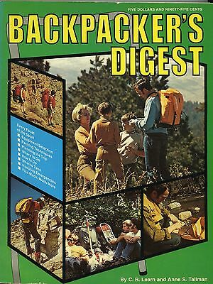 Collector Book Backpacker's Digest 1973 Edition