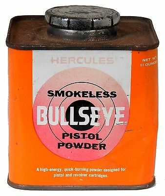 Hercules Bullseye Powder Can (Empty)