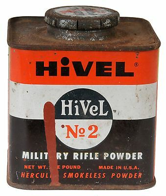 Hercules Hi Vel No 2 Powder Can (Empty)