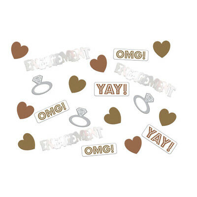 OMG! Engagement Table Confetti Sprinkles 14g Bags x 3