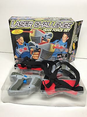 Laser Challenge Canada Games Team Force Set 1996 Toymax In Box