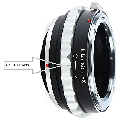 Adapter To Convert Nikon F-Mount D, G-Type Lens To Fujifilm X-Mount For Fuji X-P