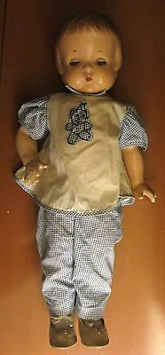 Antique Effanbee Patsy Ann Composition Doll with Original Clothing 19""