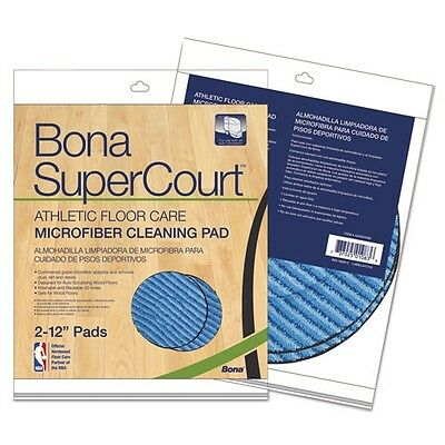 Bona Supercourt Athletic Floorcare Microfiber Cleaning Pad - AX0003498