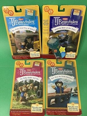LOT OF 4 TJ BEARYTALES books & cartridges ALL BRAND NEW IN PACKAGE