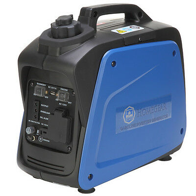 Homegear 950i Digital 950 Watts Portable Gas Inverter Power Generator