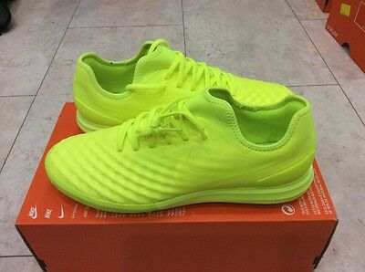 Nike MagistaX Finale II TF Football Trainers UK 8.5 EUR 43 Volt & Volt Ice