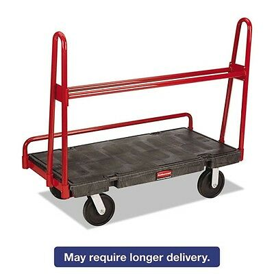 Rubbermaid Commercial A-Frame Panel Truck - 4463BLA