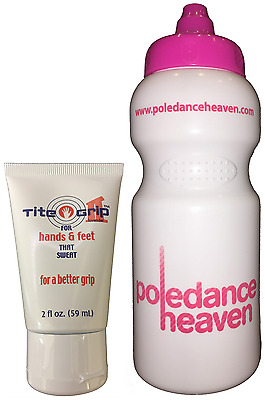 Tite Grip 2 (59ml) + Pole Dance Sport Drinks Bottle 500ml  x Mighty / Dry Hands