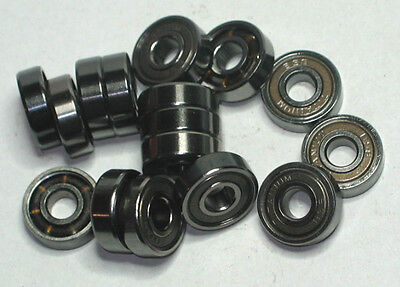 16 Inliner Kugellager 608Z  608 Z  Bsb Boss Titanium  Speed Bearings