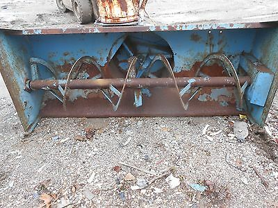 Used Three Point Allied Snow Blower 78 Inch Needs Pto Shaftused