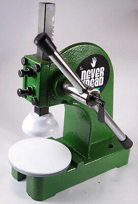 GREEN NEW POLYMER CLAY KNEADER MACHINE - EASY * FAST NEVERknead Sculpey Pavelka