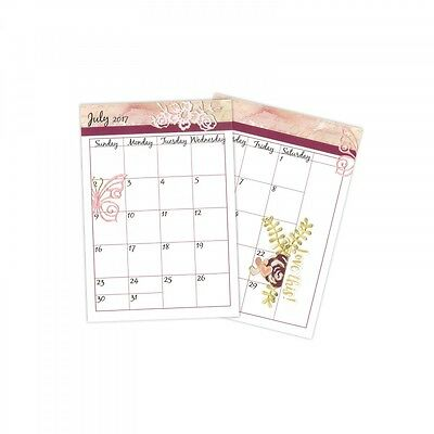 Sizzix Clear Stamps - Calendar by David Tutera 661888