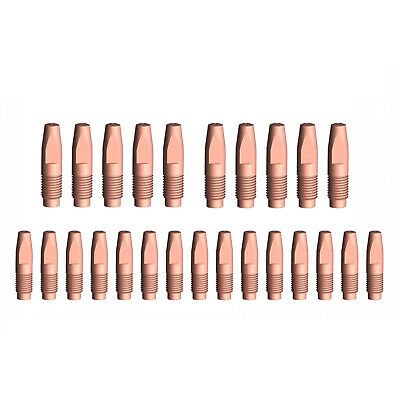 MIG Contact Tips - 1.2mm FRONIUS Style- 25 pack - M6 x 6 x 1.2mm-AL2300 - AW2500