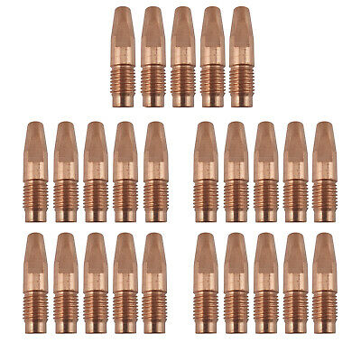 MIG Contact Tips - 1.6mm FRONIUS Style- 25 pack - M10 x 10 x 1.6mm-AL4000-AW5000