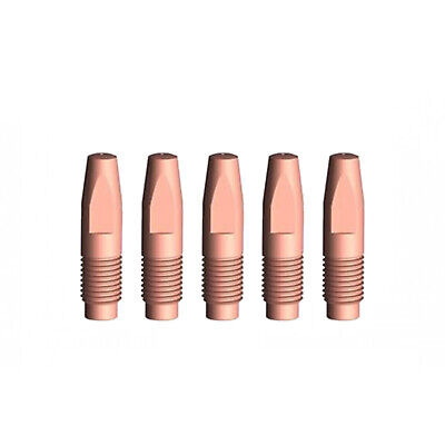 MIG Contact Tips - 1.2mm FRONIUS Style- 5 pack - M8 x 8 x 1.2mm-AL3000 - AW4000