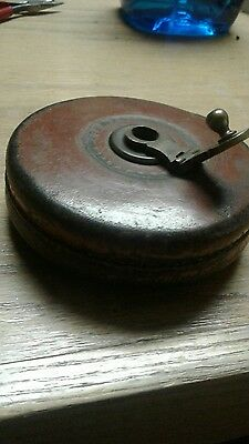 antique measuring tape john rabone and  sons