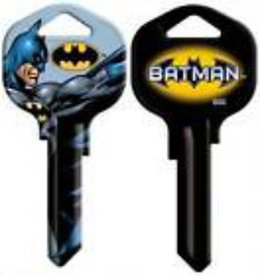 BATMAN House Key Blank KW1 Kwikset DC COMICS MARVEL ACTION LOGO