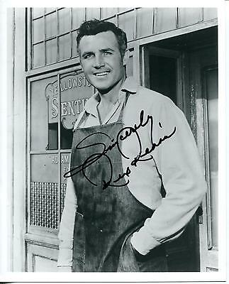 Rex Reason Science Fiction Movie Actor This Island Earth Signed Photo Autograph