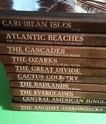 'The American Wilderness' 10 Volume Hardcover Book Set by Time-Life Books