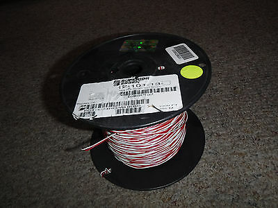 New One Pair 24 Awg Red/white Dist. Frame Cross Connect Wire Essex 12-101-13